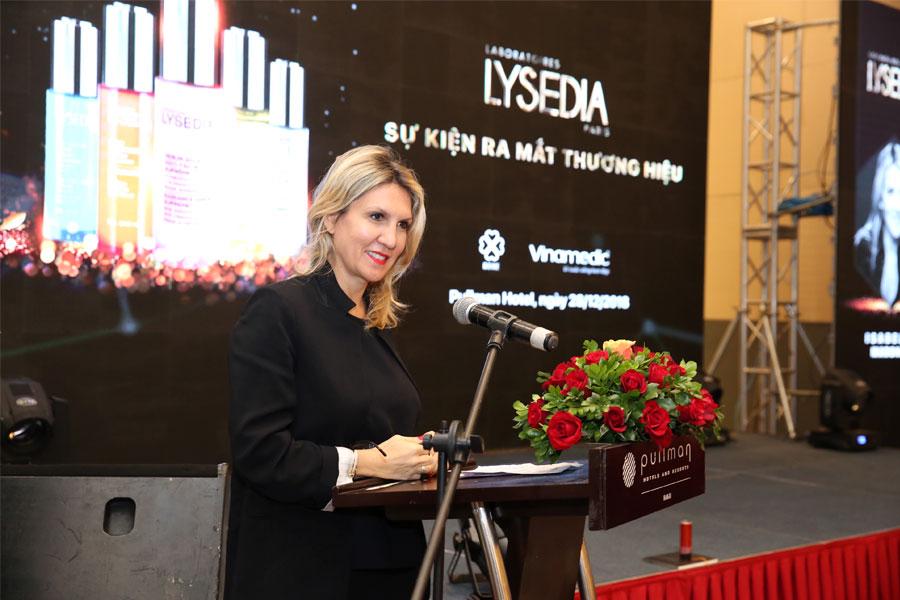 Lễ ra mắt dược mỹ phẩm Pháp LYSEDIA – Cuộc cách mạng làm đẹp cho phụ nữ Việt