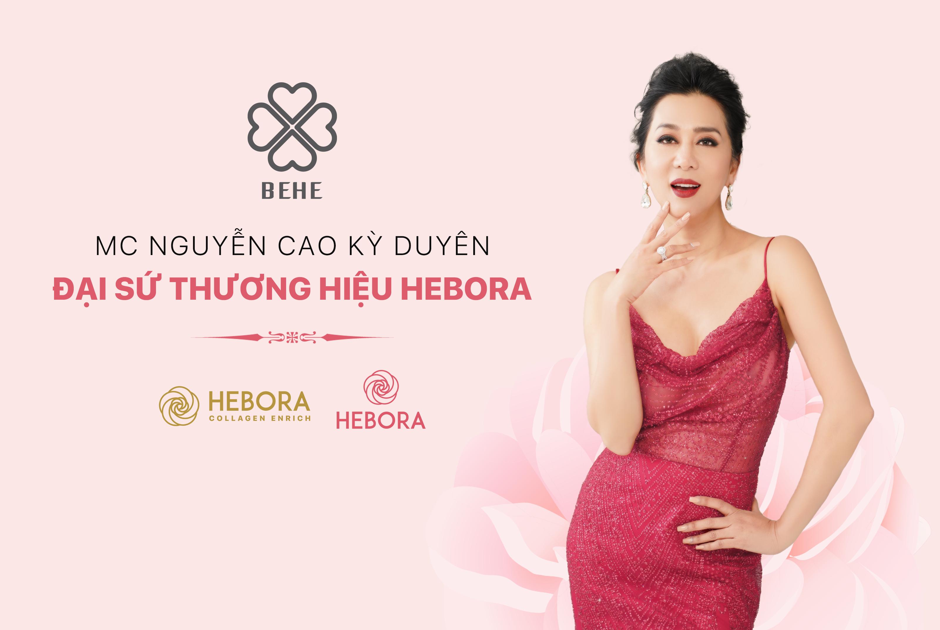 BEHE Việt Nam công bố MC Nguyễn Cao Kỳ Duyên trở thành đại sứ thương hiệu HEBORA