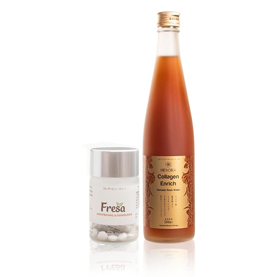 Combo Fresa và Hebora Collagen: